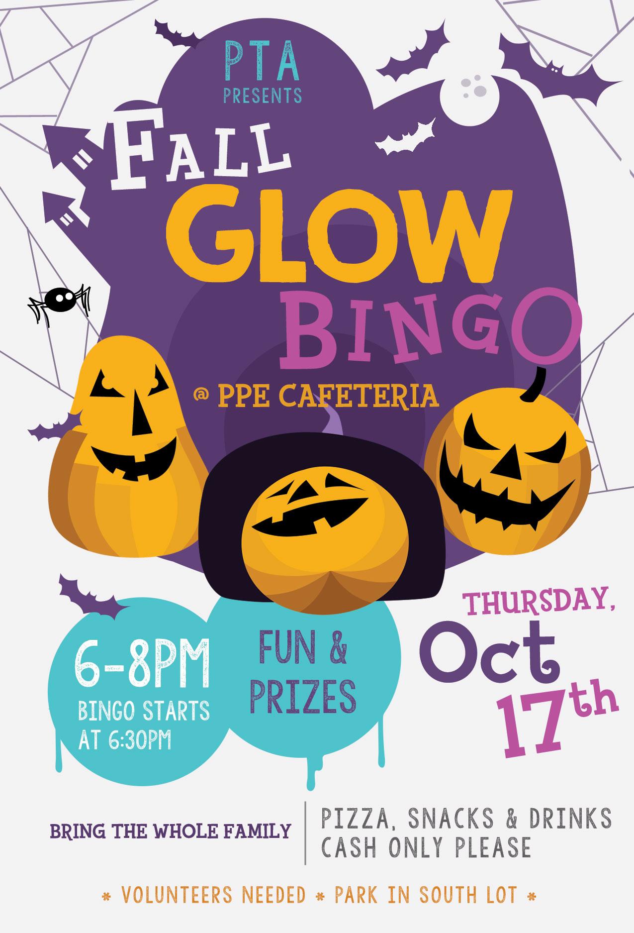 Glow Bingo - PPE PTA
